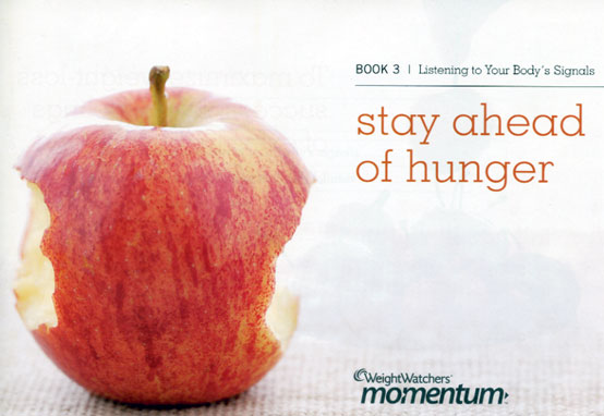 Weight Watcher week 3 booklet - Stay Ahead of Hunger