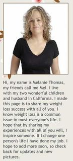 Hi I'm Melanie Thomas!